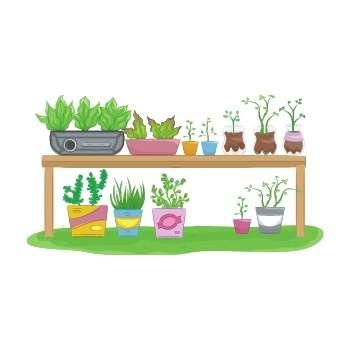 child-gardening